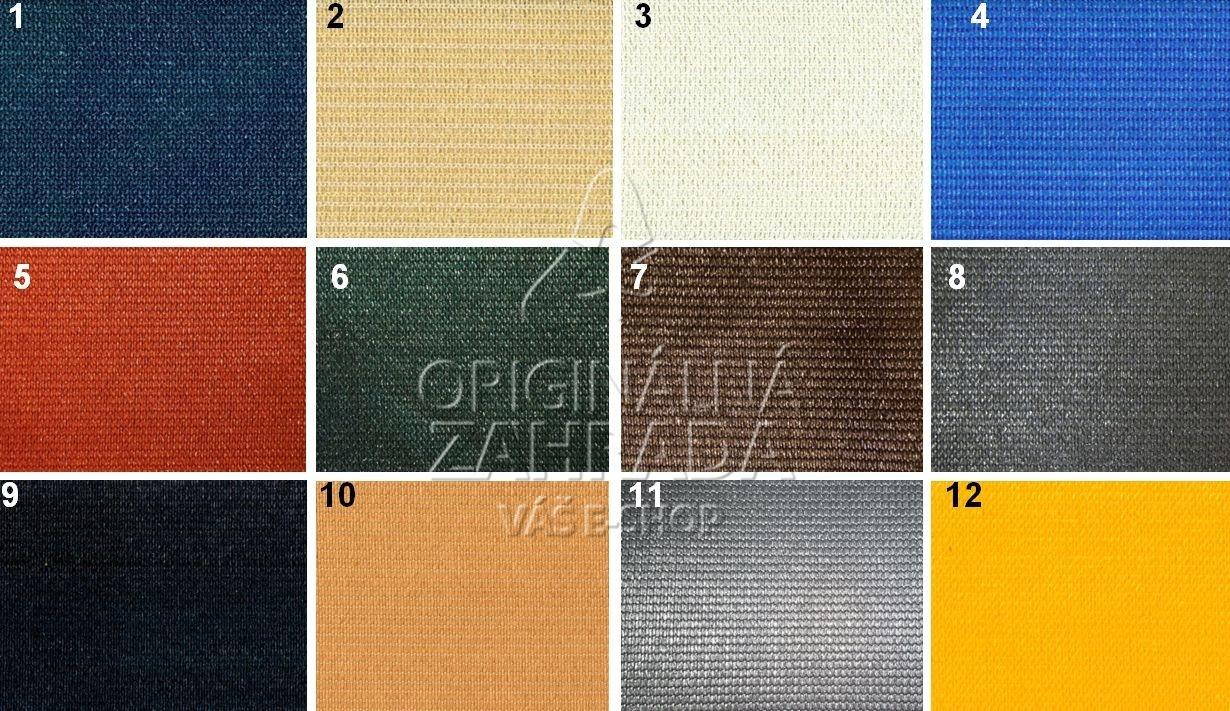 Tieniaca tkanina 230 g / m2, výška 4,0m - balenie 30m (FAREBNá)