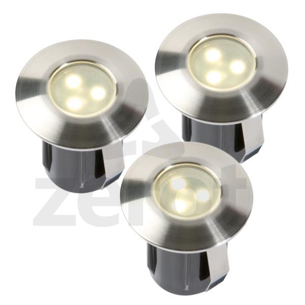 Birch sada, 3x 0,5 W,   LED